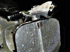 Swarovski Crystal Vintage Vespa