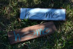 Home North Carolina Wood Sign - Wood North Carolina Sign - NC State Home Sign - Home State