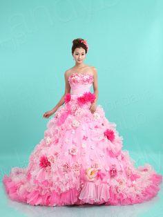 カラードレス ベルライン ビスチェ オーガンジー ブラシトレーン サイズオーダードレス ブライダル 結婚式 lbprb30046 ¥99,400