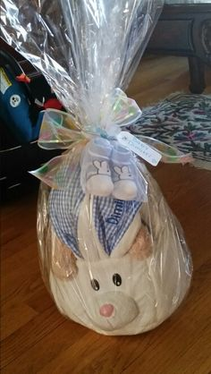 Easter basket for my godson 3 my homemade craftsgifts easter basket negle Choice Image