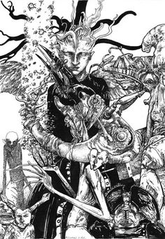 """Clive Barker_ Imajica. """"In Ovo"""" illustrated by Richard A. Kirk"""