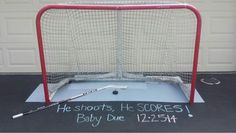 How hockey fans announce they're having a baby (Photos)