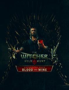 I DID A THING The Witcher 3 Geralt of Rivia Crossover Game of Thrones BLOOD AND WINE
