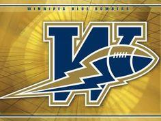 WInnipeg Blue Bombers Sports Art, Sports Logos, Sports Teams, Winnipeg Blue Bombers, Canadian Football League, I Am Canadian, Football Cheerleaders, Season Ticket, Win Or Lose