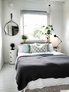 80 Cozy Small Bedroom Interior Design Ideas www. - New Bedroom Cozy Small Bedrooms, Small Master Bedroom, Small Bedroom Designs, Trendy Bedroom, Cozy Bedroom, Modern Bedroom, Bedroom Decor, Bedroom Ideas, Design Bedroom