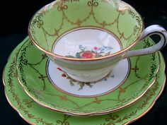 Mint vintage teacup
