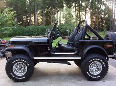 1980 Jeep CJ7, I had a 79 should have never sold even though it was in pieces it did start lol