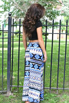 Can't wait for summer!!! So in love with crop tops and maxi skirts!!