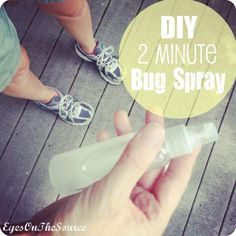 DIY Two Minute Bug Spray! Worked for us!! Not one of us had a mosquito bite!