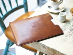 Leather iPad sleeve / by Danny P.