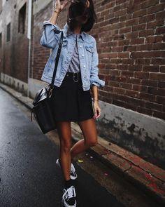 Rainy day style 049 cute rainy day outfits, rainy day outfit for spring, cute Rainy Day Outfit For Spring, Cute Rainy Day Outfits, Rainy Day Fashion, Spring Outfits, Everyday Outfits, Look Fashion, Fashion Outfits, Womens Fashion, Outfit Vestidos