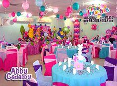 :) Disney Princess Birthday Party, Elmo Birthday, 4th Birthday Parties, Birthday Ideas, Sesame Street Birthday Cakes, Sesame Street Party, Abby Cadabby, Party Themes, Party Ideas