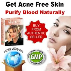Herbal Acne Skin Care Pills Glisten Plus Blood Cleanser