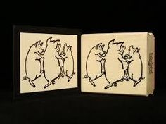 Pig stamper for decor and invitations