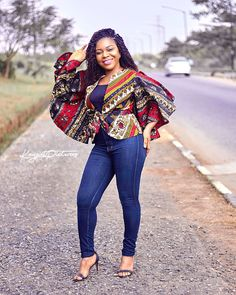 Collection of the most beautiful and stylish ankara peplum tops of 2018 every lady must have. See these latest stylish ankara peplum tops that'll make you stun Ankara Peplum Tops, Ankara Blouse, Ankara Styles For Men, Beautiful Ankara Styles, African Fashion Designers, Latest African Fashion Dresses, Ankara Fashion, African Attire, African Dress