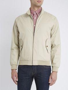 Ben Sherman The Harrington Jacket - Beige