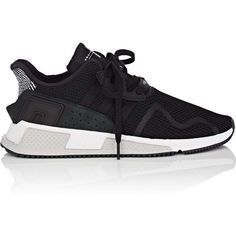 adidas Men's Men's EQT Cushion ADV Sneakers ($130) ❤ liked on Polyvore featuring men's fashion, men's shoes, men's sneakers, black, adidas mens sneakers, mens black sneakers, adidas mens shoes, men's low top shoes and men's low top sneakers