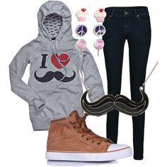 I ♥ le moustache