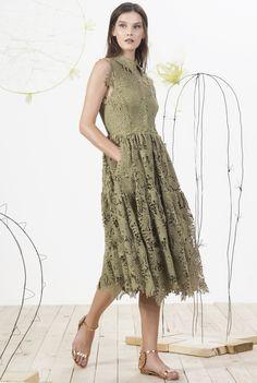 MARIA LUCIA HOHAN Polynesia Dress ROMANIAN Designers Pinterest