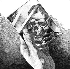 """mind fucking with impossible to prononuce or write name...  Oneohtrix Point Never, """"Replica"""" released in 2011."""