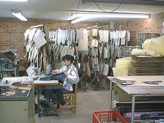 Proceso de modelaje; almacenamiento de plantillas de corte