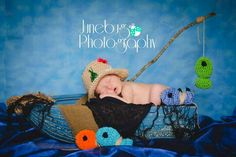 Newborn, baby in a boat, gone fishing, photography, junebug photography | portrait & wedding photographer | Fayetteville, NC and surrounding area Www.facebook.com/junebugpics