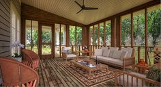 Bon Aqua Porch House- Screened Porch- Design by Building Ideas, Marcelle Guilbeau Interior Designer, David Baird Architect by Marcelle Guilbeau, via Flickr