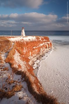 Cape Tryon Light, Cape Tryon, Prince Edward Island.I want to visit here one day.Please check out my website thanks. www.photopix.co.nz