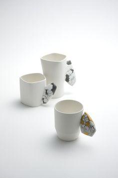 Jiwoon :: 2013 cups in cera-stone series