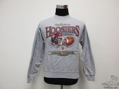 Vtg 90s Lee Sport Indiana Hoosiers Crewneck Sweatshirt sz S Small University IU #LeeSport #IndianaHoosiers