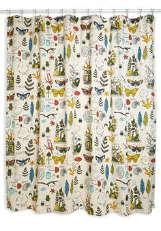 Decor on Display Shower Curtain. You may be known for your green thumb, but today youre cultivating compliments on your decorating skills by hanging this cotton shower curtain in your bathroom! #multiNaN