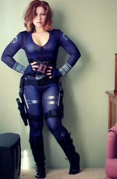 Curvy Black Widow..love!