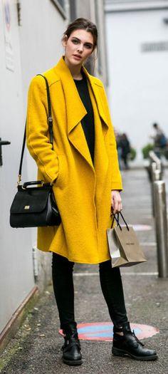 La vie en Jaune, la vie en jaune... Retrouvez nos looks sur Nouvelle Collection #nouvelleco #jaune #mode #femme #fashion