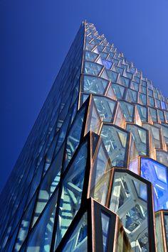 Concert hall - Reykjavik - Henning Larsen, Batteríið Architects, Facade Designer: Ólafur Elíasson