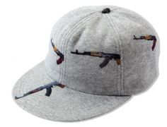 "MARK MCNAIRY x HEATHER GREY ""AK-47″ Strapback Cap Preview"