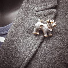 Show your dog love with this Puppy Dog Brooch  #craft365.com