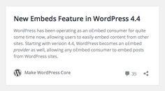 It's update time: #WordPress Version 4.4