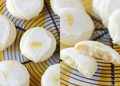 Meltaway Lemon Cookies