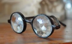 // kaleidoscope glasses