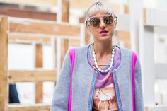 30+ Colorful Street Style Pictures From Day 5 of NYFW - NYFW Spring 2014 - Racked NY