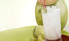 Limonada com água-de-coco