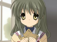 Fuko from Clannad (how can you not love that face?)