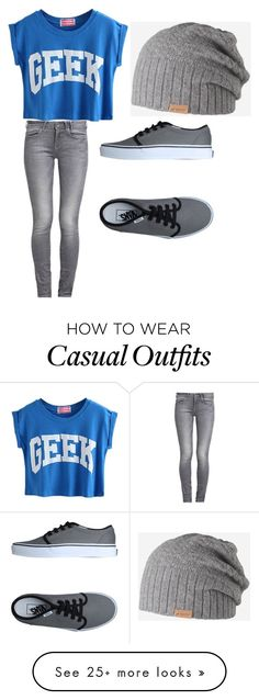 """""""casual"""" by soccerstarfbi on Polyvore featuring Vans, GUESS and Barts"""