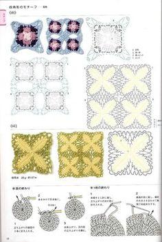 View album on Yandex. Crochet Diy, Crochet Quilt, Crochet Cross, Thread Crochet, Filet Crochet, Crochet Edging Patterns, Crochet Motifs, Crochet Diagram, Crochet Stitches