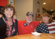 Photo courtesy of Cheryl Sanchez.  Left to right: Cathy Plybon, Jim Stephens and Sherry Duchac, all of Redding, attend the Redding Elks 88th annual Veterans Day Cognac Toast and Lunch on Nov. 11 at the Redding Elks Lodge. Go to www.redding.com for more Scene! event photos.