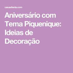 Aniversário com Tema Piquenique: Ideias de Decoração