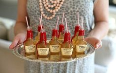 mini whiskey cocktails!!!! adorable! idoidontdesign.com