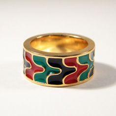 Tides Ring Gold