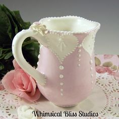 Whimsical Bliss Studios - I Heart You Mug