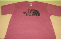 THE NORTH FACE Graphic  T Shirt Sz L Large - Red - 50/50 Blend #TheNorthFace #GraphicTee